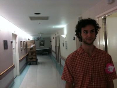 grant in the cedar sinai maternity ward