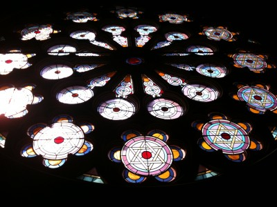eldridge street synagogue - window