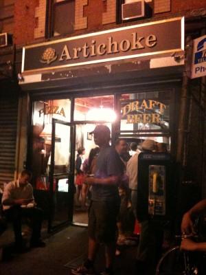 Artichoke Pizza - The Spot
