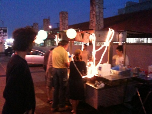 kosher taco cart