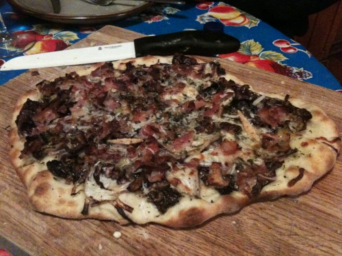 radicchio fig taleggio and radicchio pizza roasted yam and radicchio ...