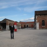 at the Arsenale, cold