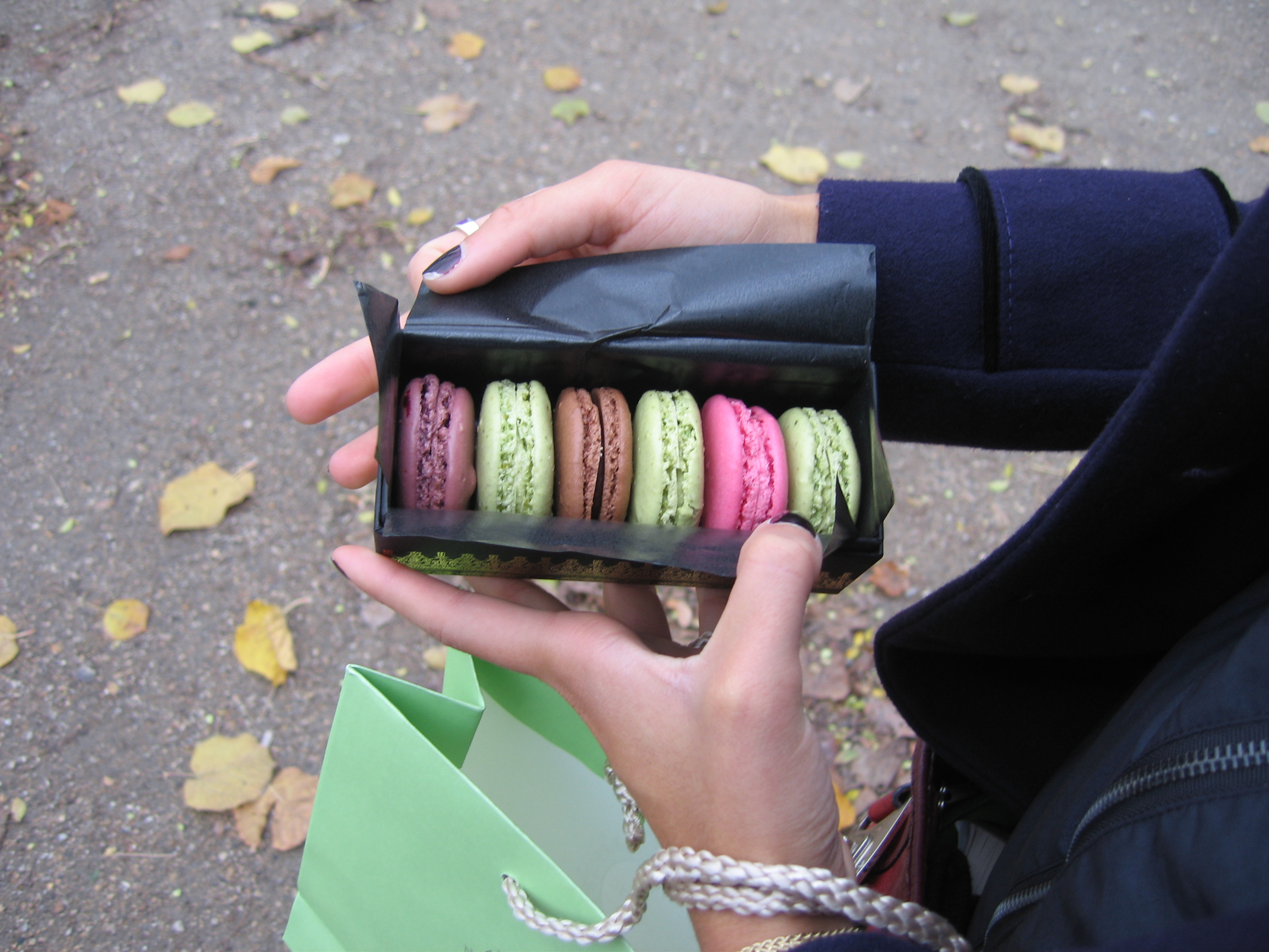 Laduree for macaroons