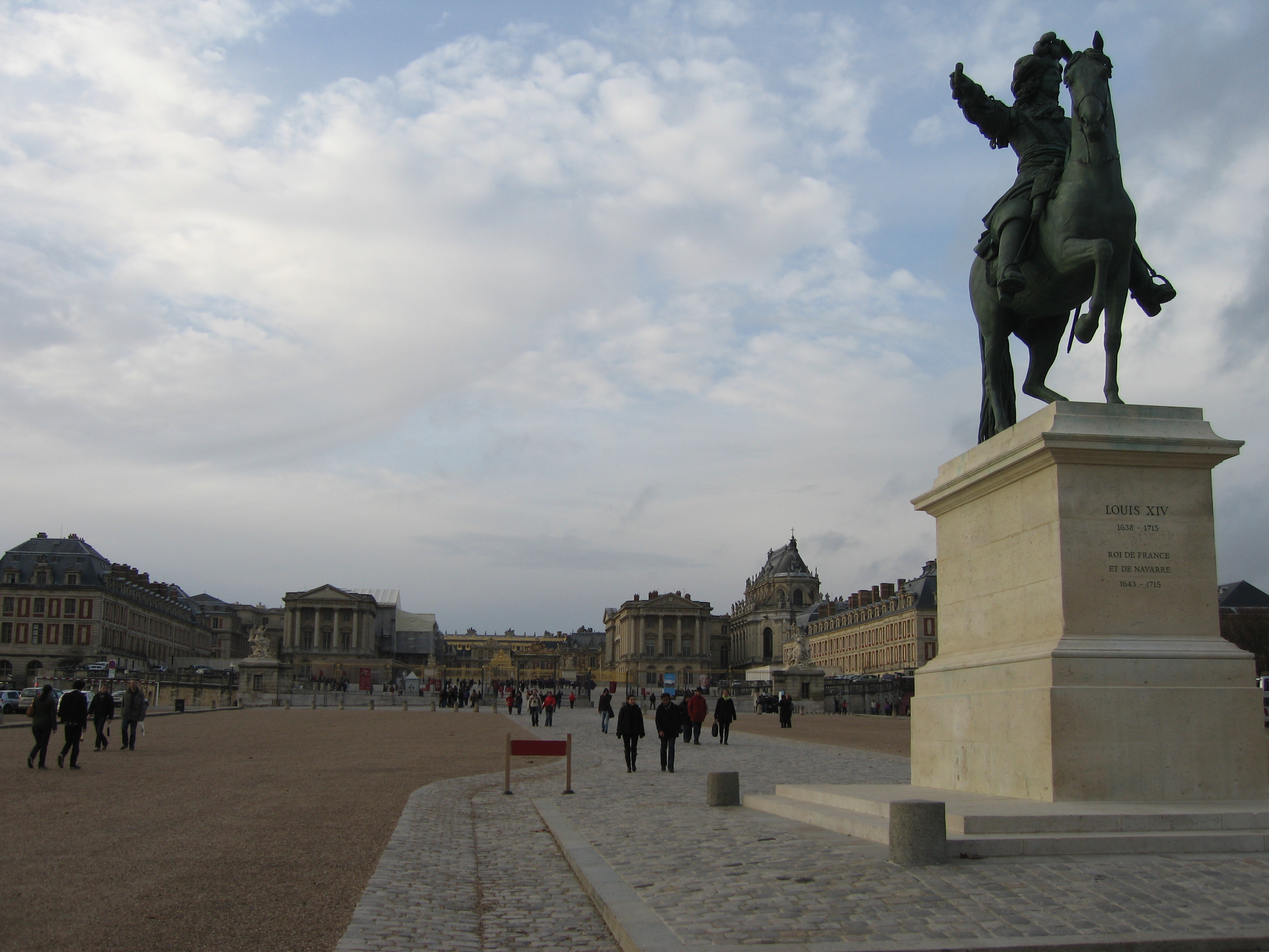 Versailles in the daytime