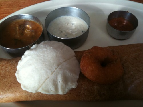 Udupi Palace's lunch special