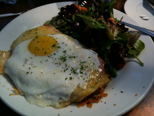 the little next door - croque madame